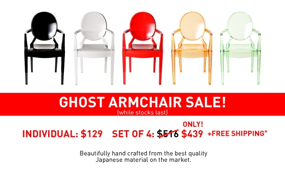 Replica Louis Ghost Armchairs Sydney, Australia - Cheap Ghost Chairs