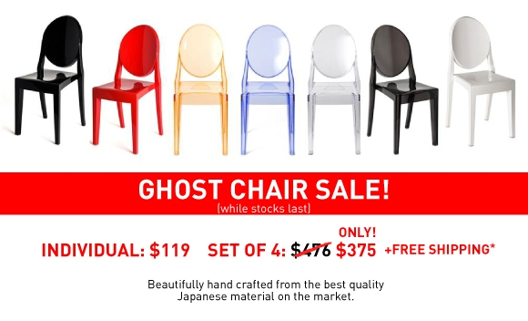 Replica Victoria Ghost Chairs Sydney, Australia - Cheap Ghost Chairs