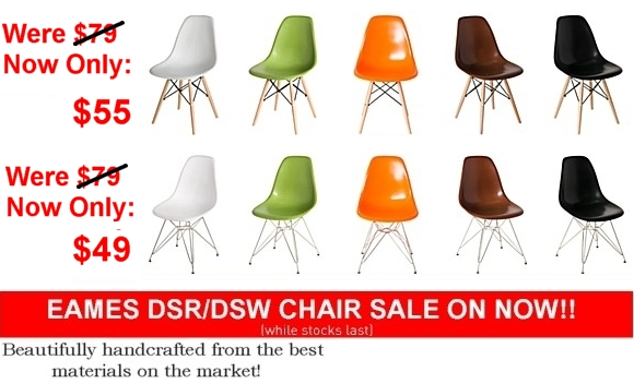 Replica Eames DSR Chair Sale - Replica Eames DSW Chair Sale Sydney