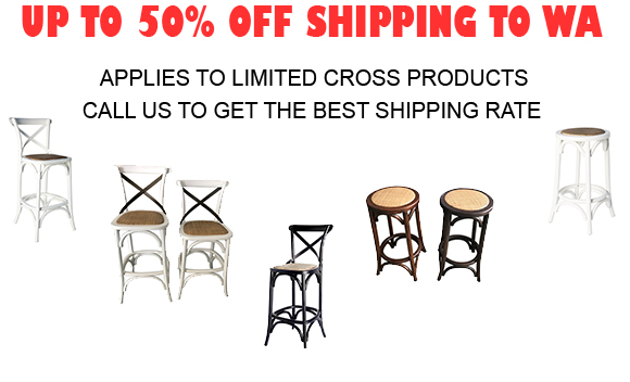 Reduced Shipping to WA for Cross Chairs